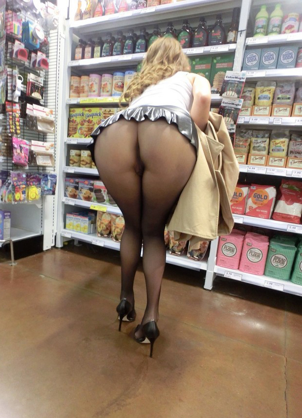 Sneaky Pic Of Upskirt Girl In Pantyhose